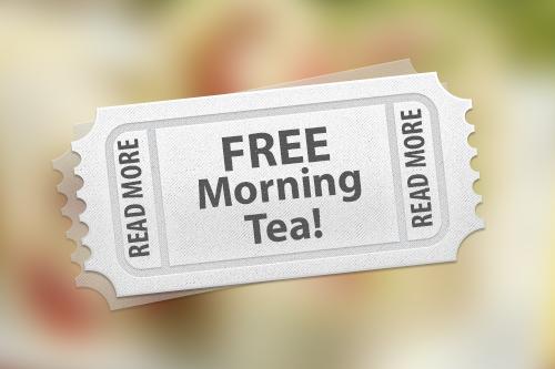 Free Morning Tea Image